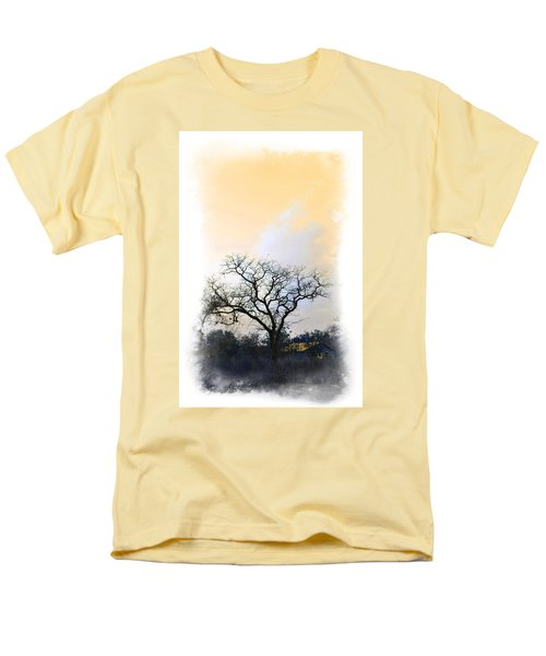 Men's T-Shirt  (Regular Fit) featuring the photograph Tree Of La Vernia II by Carolina Liechtenstein