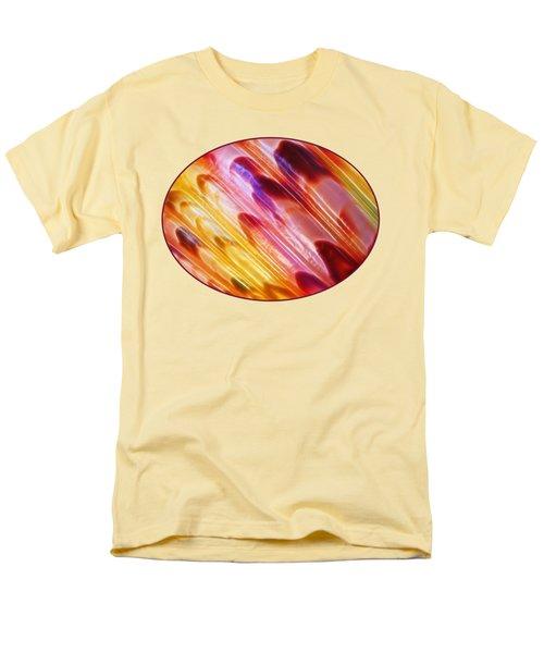 Triton Seashell Multicolor Abstract Men's T-Shirt  (Regular Fit) by Gill Billington