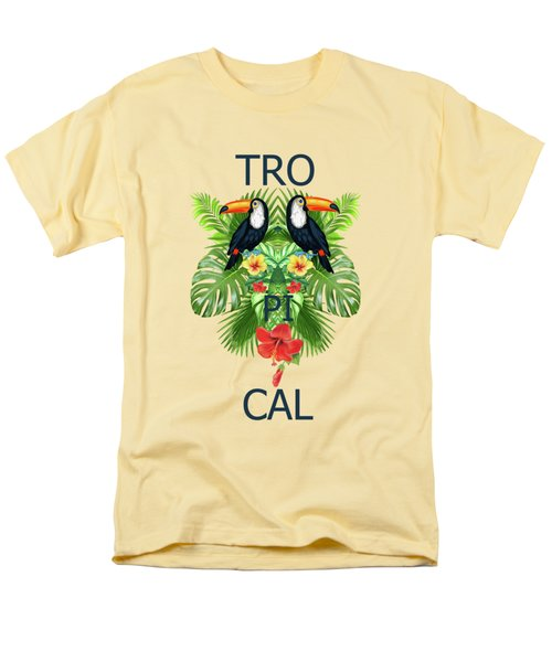 Tropical Summer  Men's T-Shirt  (Regular Fit) by Mark Ashkenazi