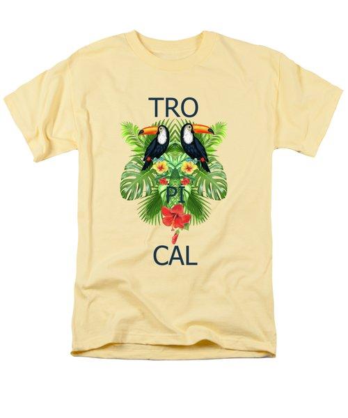 Tropical Summer  Men's T-Shirt  (Regular Fit)