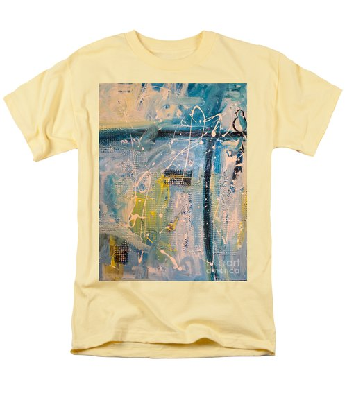 Tropicana Bird 01 Men's T-Shirt  (Regular Fit) by Gallery Messina