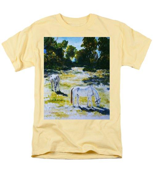 Sunlit Men's T-Shirt  (Regular Fit) by Hartmut Jager