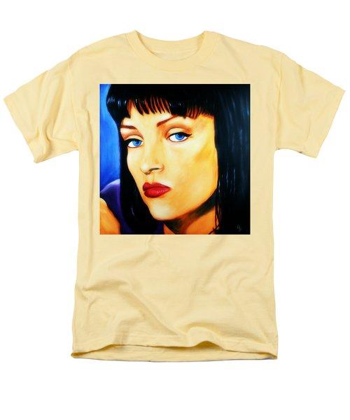 Uma Thurman In Pulp Fiction Men's T-Shirt  (Regular Fit)