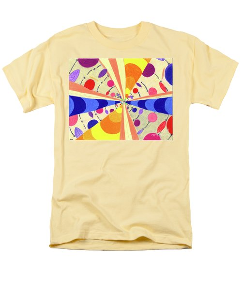 Men's T-Shirt  (Regular Fit) featuring the drawing Universals by Kim Sy Ok