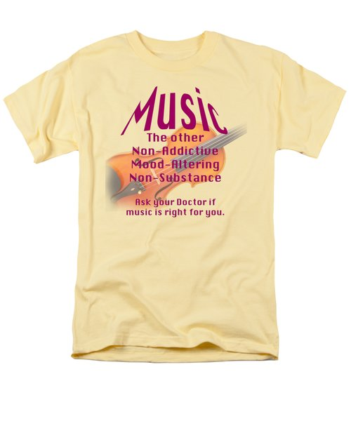 Violin Or Viola Music Is Right For You 5499.02 Men's T-Shirt  (Regular Fit) by M K  Miller