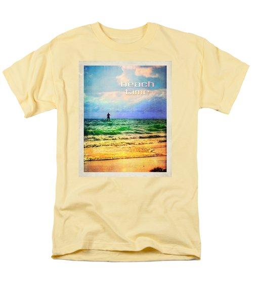 Beach Time Men's T-Shirt  (Regular Fit) by Tammy Wetzel