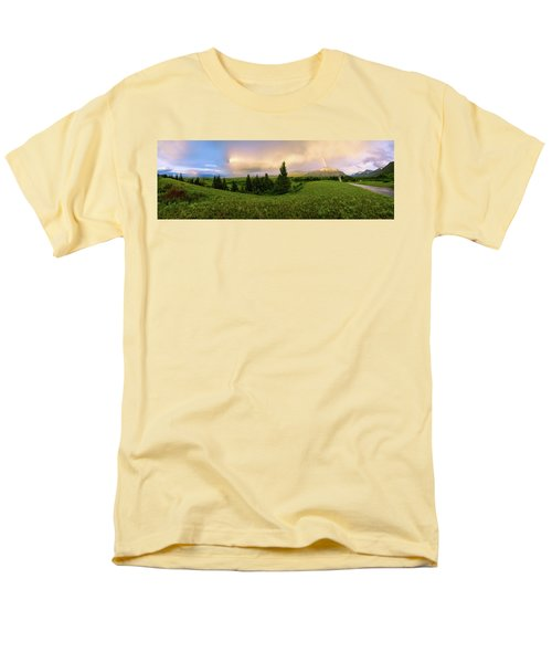 Men's T-Shirt  (Regular Fit) featuring the photograph Warm The Soul Panorama by Chad Dutson