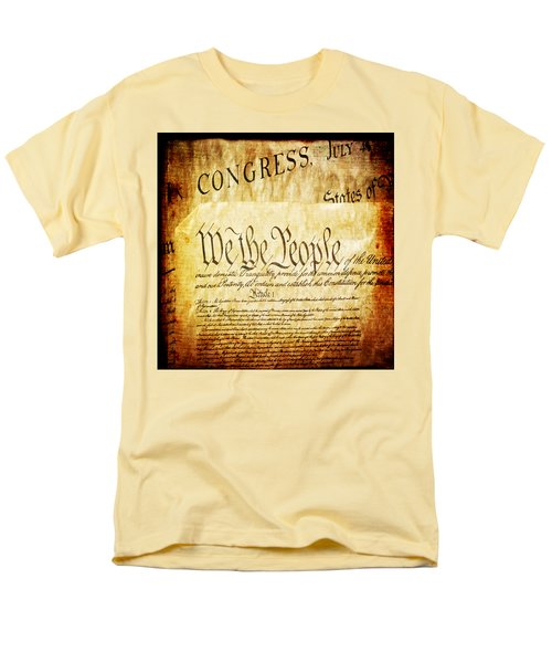 We The People Men's T-Shirt  (Regular Fit) by Angelina Vick