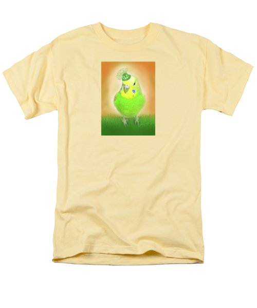 Men's T-Shirt  (Regular Fit) featuring the digital art Wearin' Of The Green by Jean Pacheco Ravinski