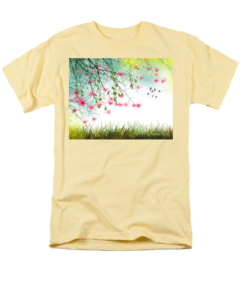 Welcome Spring 2016 Men's T-Shirt  (Regular Fit) by Trilby Cole