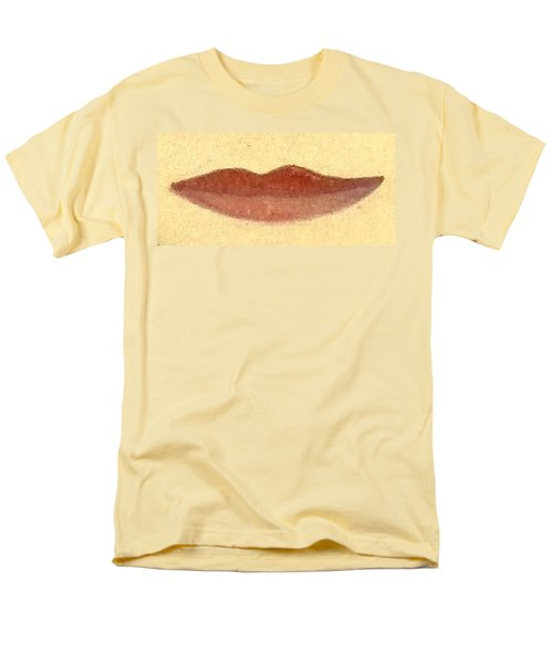 Men's T-Shirt  (Regular Fit) featuring the painting What Is Beauty by Bill OConnor