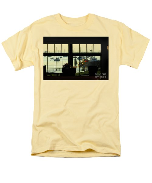 Window Painting Men's T-Shirt  (Regular Fit)