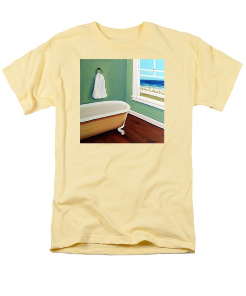 Window To The Sea No. 4 Men's T-Shirt  (Regular Fit) by Rebecca Korpita