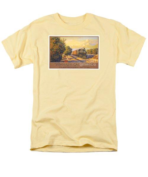 Wonderful California Men's T-Shirt  (Regular Fit) by Nostalgic Prints