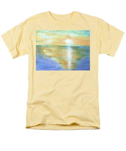 Wow Sunset Men's T-Shirt  (Regular Fit) by Debbie Lewis