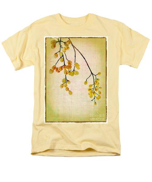 Yellow Berries Men's T-Shirt  (Regular Fit) by Judi Bagwell