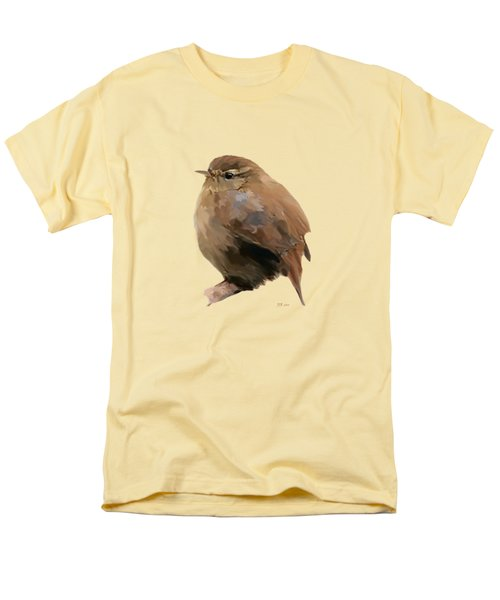 Young Female Blackbird - Turdus Merula Men's T-Shirt  (Regular Fit) by Bamalam  Photography