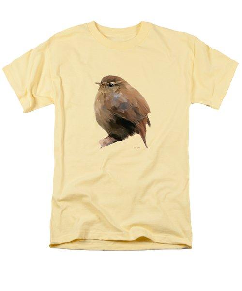 Young Female Blackbird - Turdus Merula Men's T-Shirt  (Regular Fit)