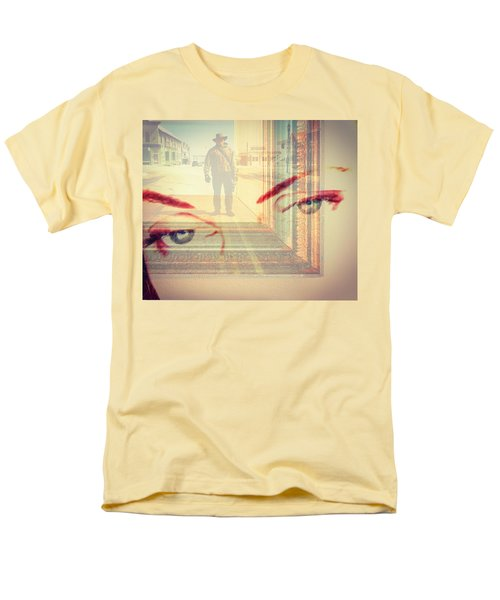 Your Eyes Only Men's T-Shirt  (Regular Fit) by Theresa Marie Johnson