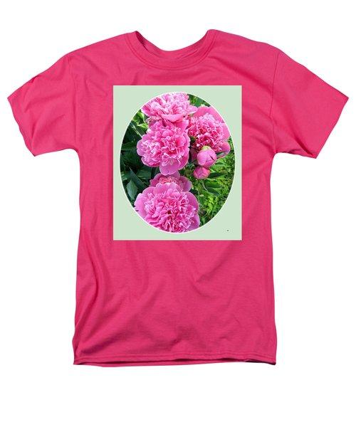 Country Peonies Men's T-Shirt  (Regular Fit)