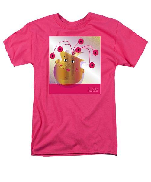 Happy Dance Men's T-Shirt  (Regular Fit) by Iris Gelbart