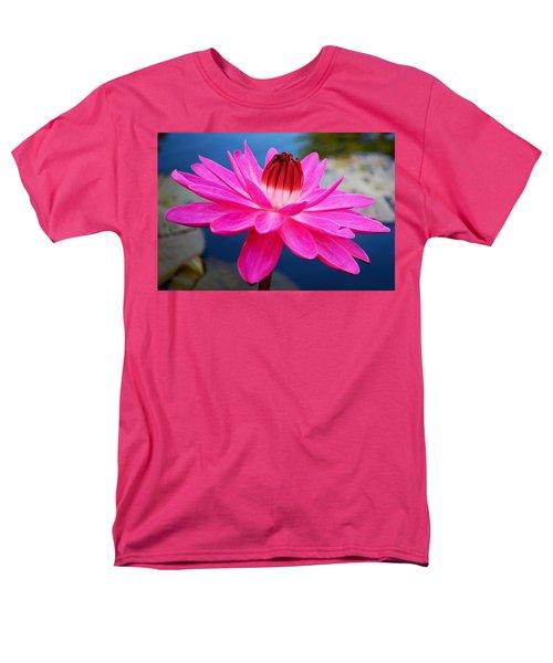 A Flower And A Dream... Men's T-Shirt  (Regular Fit) by Melanie Moraga