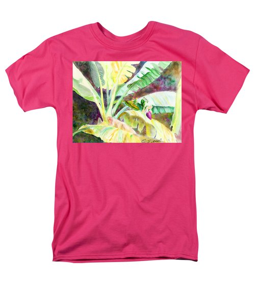 Banana Tree Men's T-Shirt  (Regular Fit)