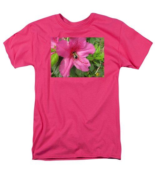 Bee Cause Men's T-Shirt  (Regular Fit) by Deborah Lacoste