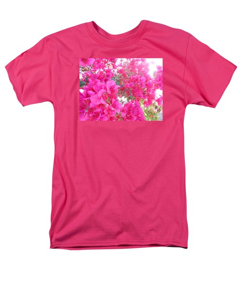 Men's T-Shirt  (Regular Fit) featuring the photograph Bougainvillea by Kay Gilley