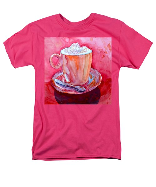 Men's T-Shirt  (Regular Fit) featuring the painting Buon Appetito by Beverley Harper Tinsley