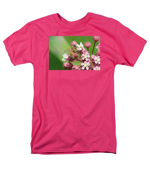 Crazy For Milkweed Men's T-Shirt  (Regular Fit) by Lucinda VanVleck
