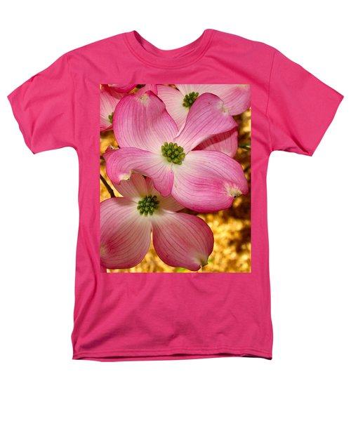 Dogwood In Pink Men's T-Shirt  (Regular Fit) by Roger Becker