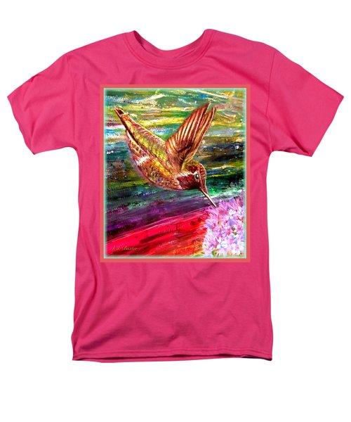 Dream Of A Hummingbird  Men's T-Shirt  (Regular Fit) by Kimberlee Baxter