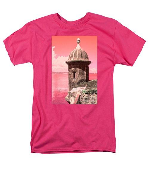El Morro In The Pink Men's T-Shirt  (Regular Fit)