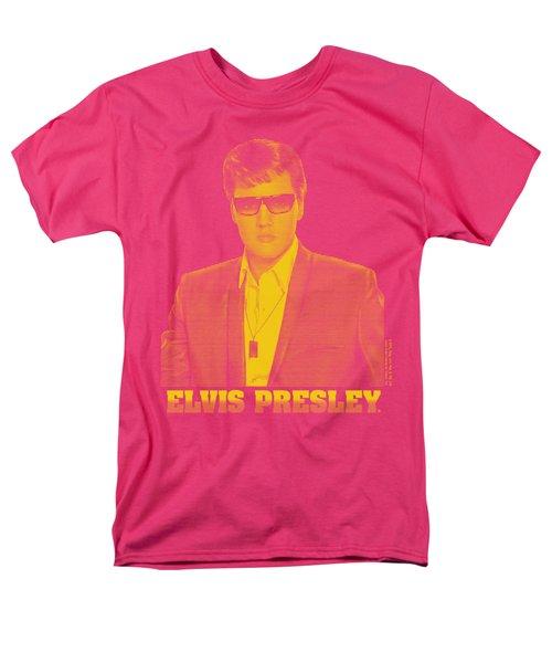 Elvis - Yellow Elvis Men's T-Shirt  (Regular Fit)