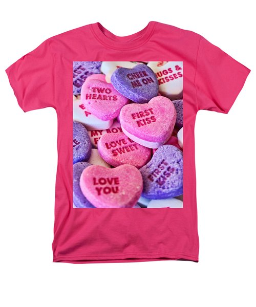 Men's T-Shirt  (Regular Fit) featuring the photograph Valentines Day by Vizual Studio