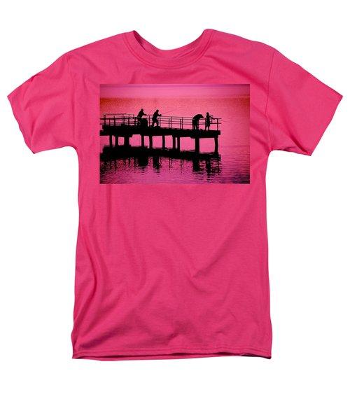 Men's T-Shirt  (Regular Fit) featuring the photograph Fishermen by Raymond Salani III