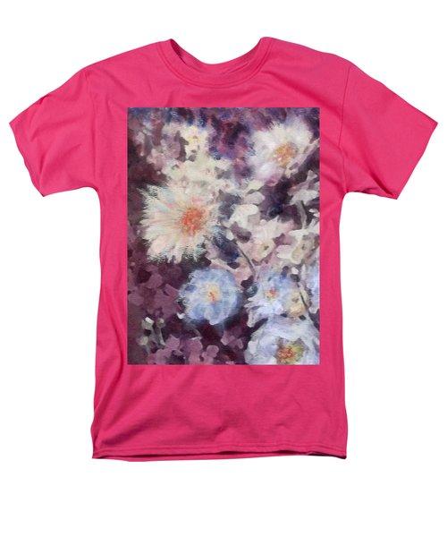 Flower  Burst Men's T-Shirt  (Regular Fit) by Richard James Digance