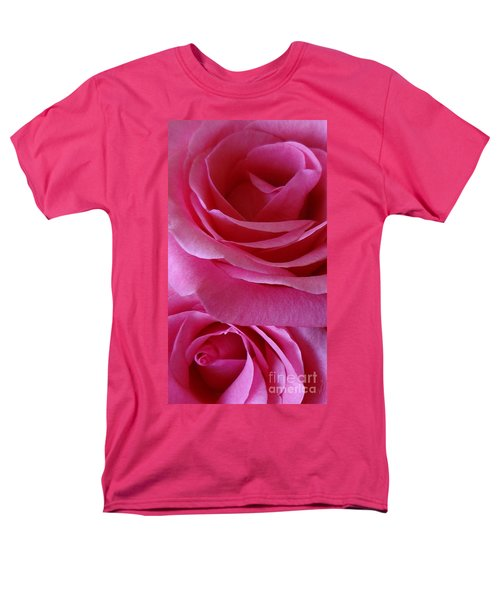 Face Of Roses 3 Men's T-Shirt  (Regular Fit) by Gem S Visionary