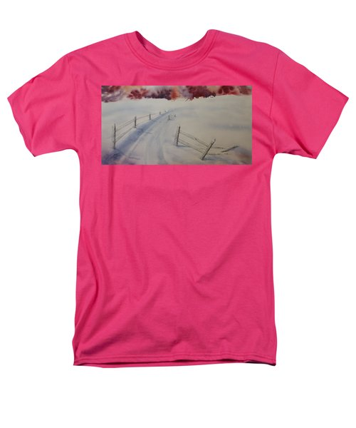 Men's T-Shirt  (Regular Fit) featuring the painting Going Home by Richard Faulkner