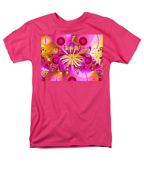 Men's T-Shirt  (Regular Fit) featuring the photograph Hot Orchid by Sylvia Thornton