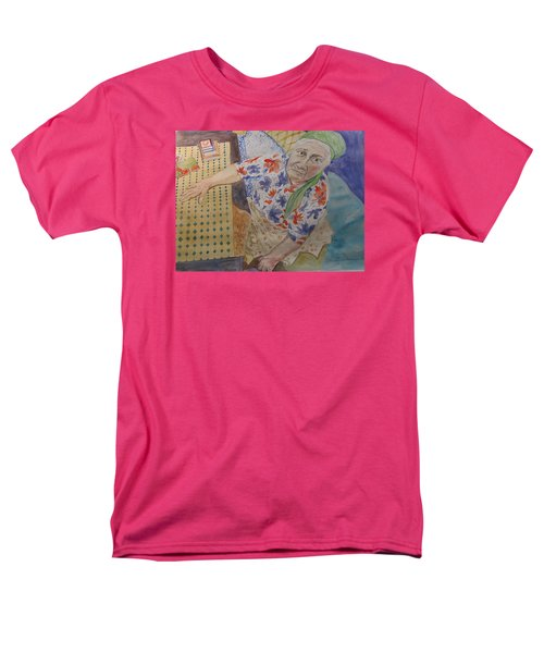 Men's T-Shirt  (Regular Fit) featuring the painting I Know I'm Right  by Esther Newman-Cohen