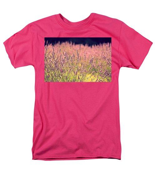 Lavender Dreams Men's T-Shirt  (Regular Fit) by Lynn Sprowl