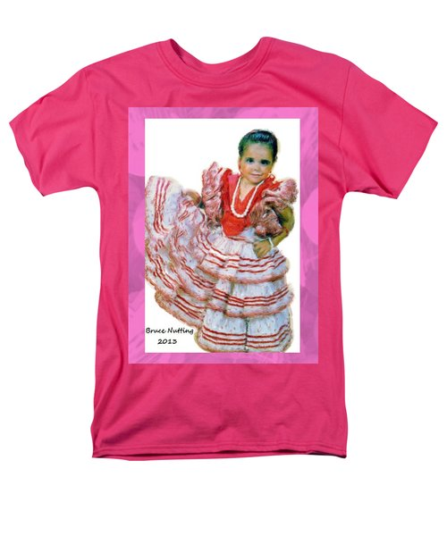 Men's T-Shirt  (Regular Fit) featuring the painting Little Lidia by Bruce Nutting