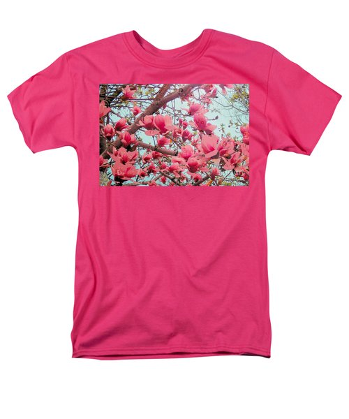 Magnolia Blossoms In Spring Men's T-Shirt  (Regular Fit) by Janette Boyd