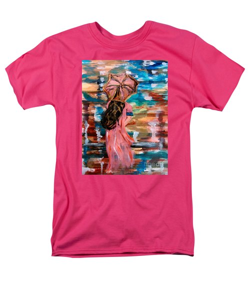 Men's T-Shirt  (Regular Fit) featuring the painting Memories by Lori  Lovetere