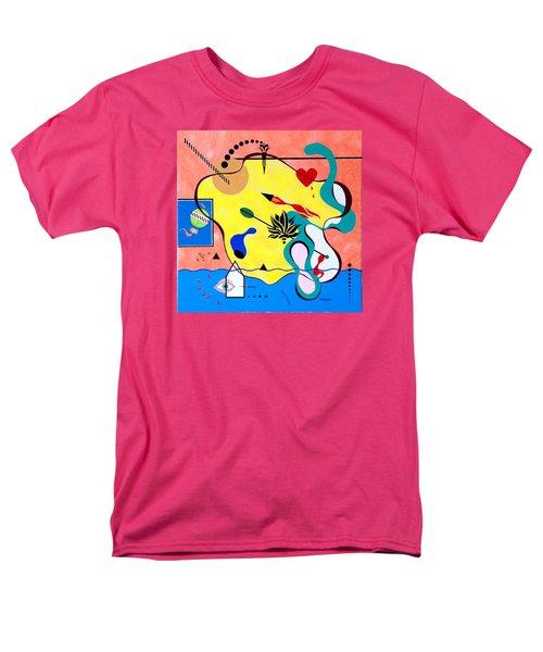 Miro Miro On The Wall Men's T-Shirt  (Regular Fit) by Thomas Gronowski
