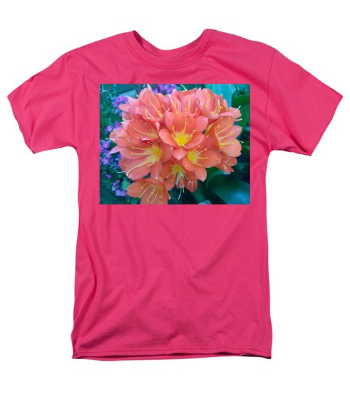 Orange Bouquet Men's T-Shirt  (Regular Fit) by Claudia Goodell