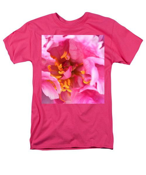 Pink Beauty Men's T-Shirt  (Regular Fit) by Tine Nordbred