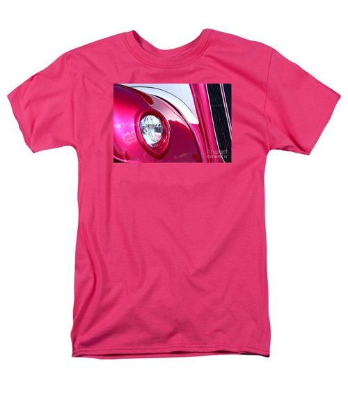 Men's T-Shirt  (Regular Fit) featuring the photograph Pink Passion by Linda Bianic